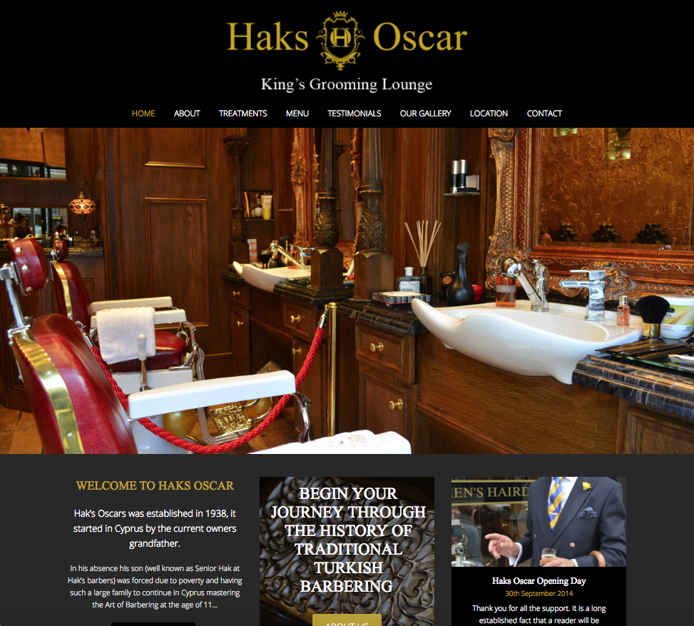 Haks Oscar - Barber websites in bromley and croydon