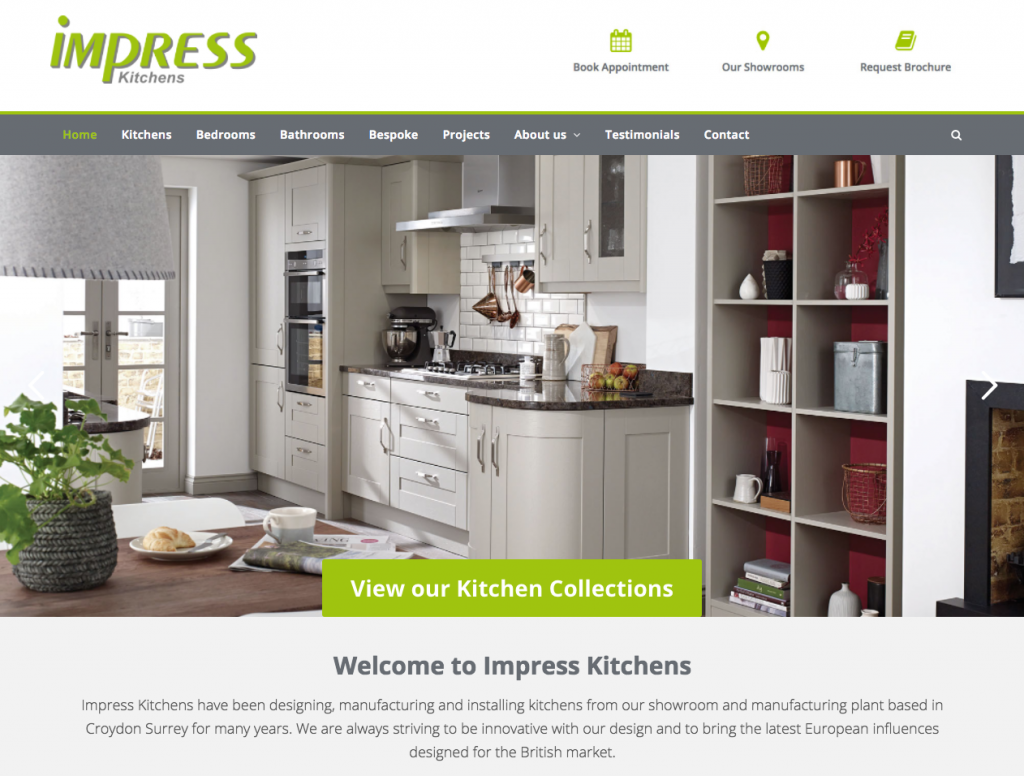 Impress Kitchens - Kitchen websites in bromley and croydon