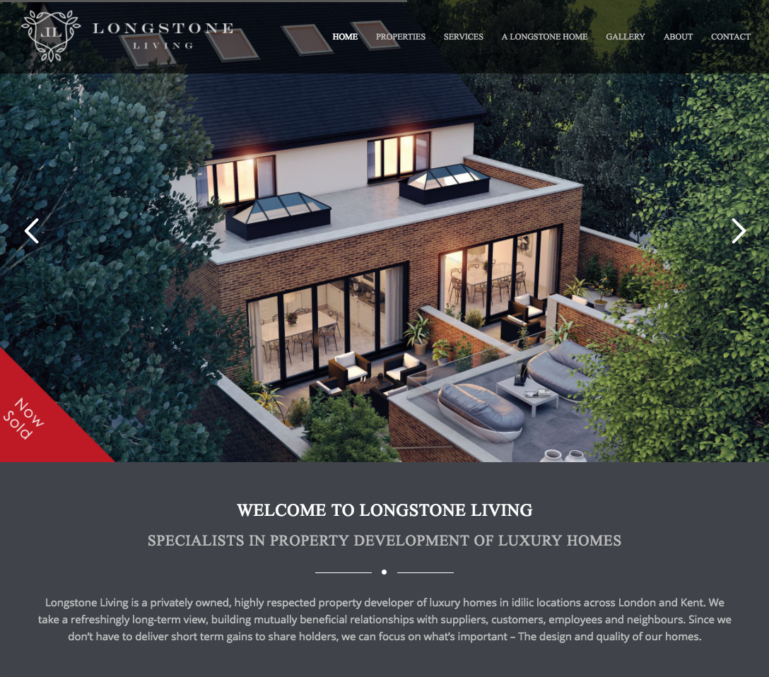 Longstone Living - Construction websites in bromley and croydon