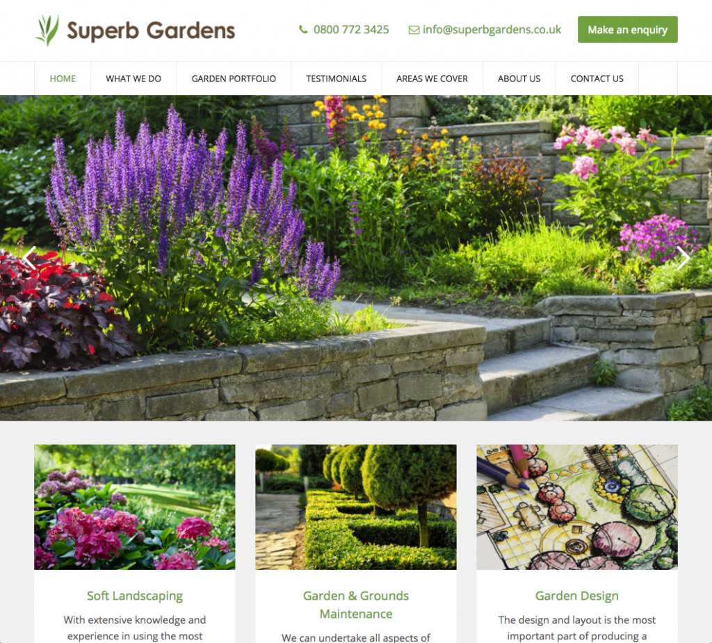Superb Gardens - Landscaping websites in bromley and croydon