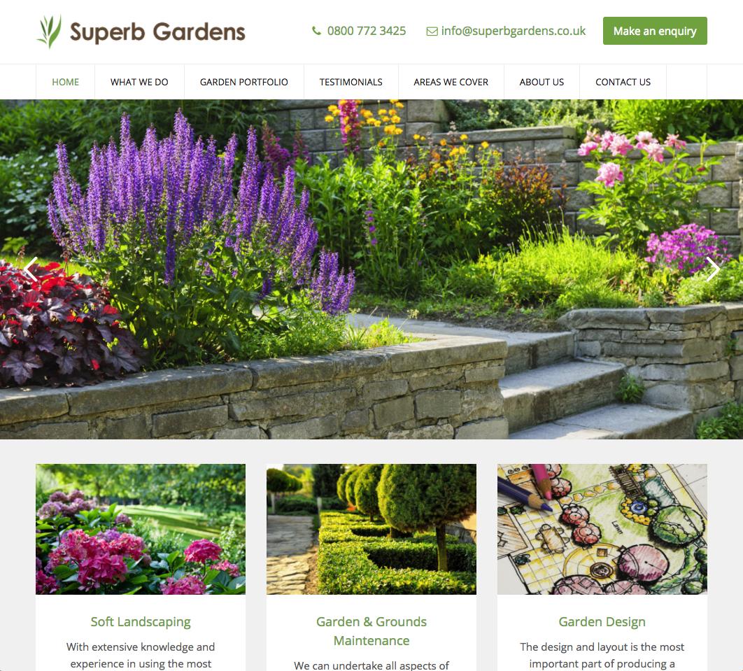 Superb Gardens - Landscaping websites in bromley and croydon