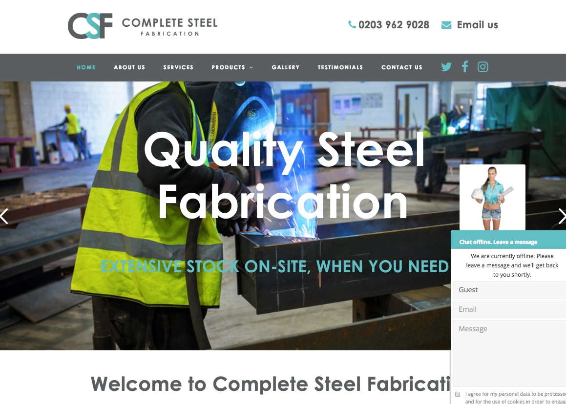 Website Design Bromley Construction
