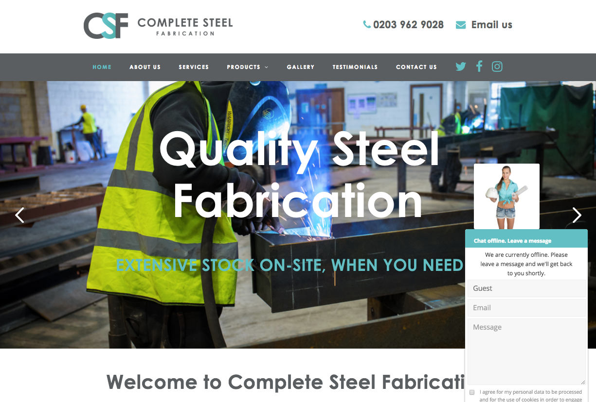 Website Design Bromley Construction